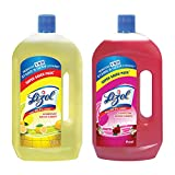 #2: Lizol Disinfectant Floor Cleaner - 975 ml (Citrus) with Lizol Disinfectant Floor Cleaner - 975 ml (Floral)
