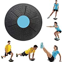 UBRAVOO Balance Board, Physiotherapy Therapy, Lower and Upper Slip, for Fitness, Rehabilitation, Back Training and Coordination (Blue)