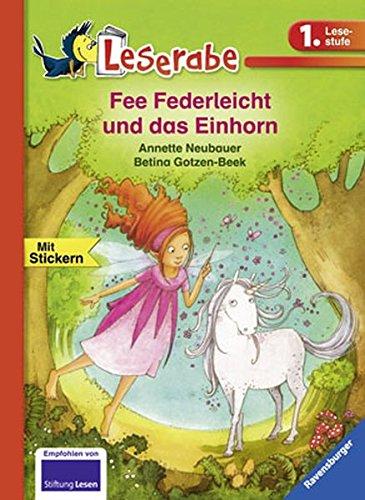 Preisvergleich Produktbild Fee Federleicht und das Einhorn (Leserabe - 1. Lesestufe)