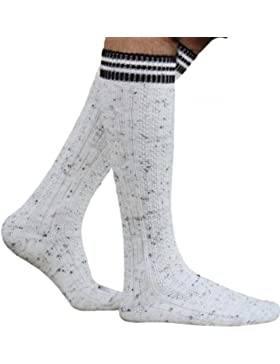 German Wear, Lange Trachtensocken Merinowolle Strümpfe Socken aus Wolle