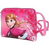 Chords Dark Pink Disney Frozen Young Princess Anna Sling Bag For Girls