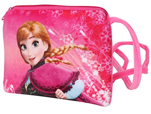 Chords Dark Pink Disney Frozen Young Princess Anna Sling Bag For Girls