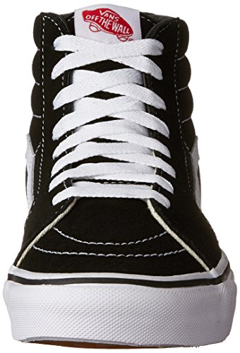 Vans Unisex-Erwachsene Sk8-Hi Reissue Sneaker Schwarz (Schwarz/Fog)