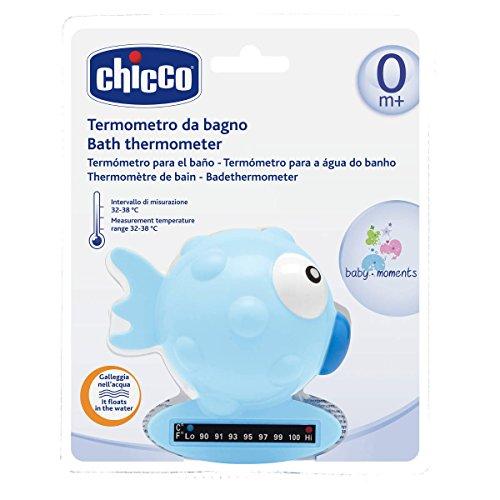 Chicco 65642 Termometro Pesce, Azzurro