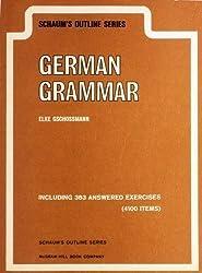 Schaum's outline of German grammar (Schaum's outline series) by Elke Gschossmann-Hendershot (1975-08-01)