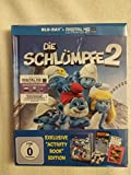 Die Schlümpfe 2: Exklusive Activity Book Edition (+ Digital HD Ultraviolet) [Blu-ray]
