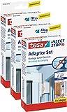 3 Stück tesa Insect Stop Adapter für ALU COMFORT Tür