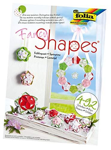 folia 25009 - Fancy - Shapes - Set Frühlingszeit - ideal als Dekoration in Bodenvasen, Dekoschalen oder als Kranz (Fancy Karton)
