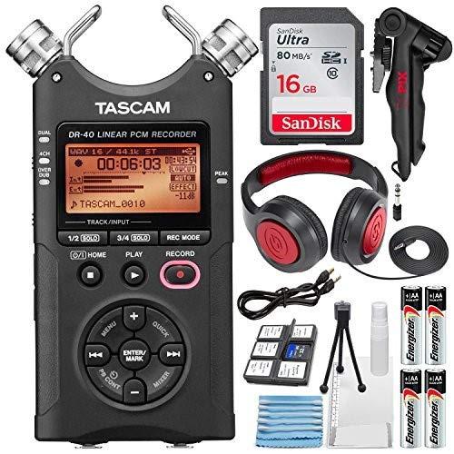Tascam DR-404-track Handheld Digital grabador de audio