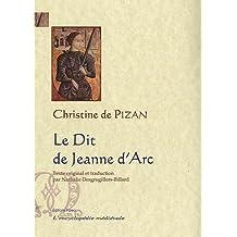 Le Dit de Jeanne d'Arc : Ditié Jehanne Darc, Manuscrit de Berne