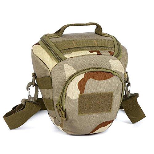 MJ Handtasche Anti-Kamera Tasche / dreieckige Tasche Tarnung Fotografie Tasche / Outdoor-Schulter Messenger Bag 1
