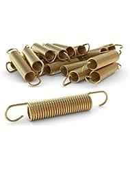 Ampel 24 - Lote de 12 muelles 165x24 mm para camas elásticas de 366 a 396 cm | material reforzado