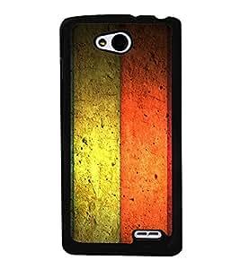 PrintVisa Flying Colors High Gloss Designer Back Case Cover for LG L90