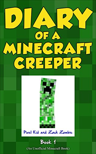 Minecraft Books Diary Of A Minecraft Creeper Book Creeper Life - Minecraft creeper spiele
