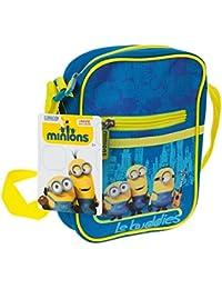 Minions Mini Sac pour enfant 20 cm, Le buddies Mini-sac avec poche