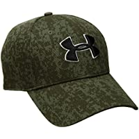 Under Armour Men's Cap (190510619080_Downtown Green and Black)