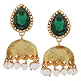 Antique Indian Jewelry Classy Crystal Jh...