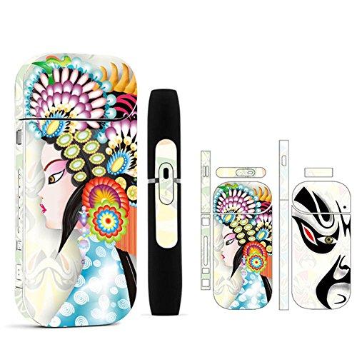 Yeleo Trosetry E Zigarette Aufkleber, Schutzfolie für IQOS Geräte, Premium Kratzerschutz Aufkleber für IQOS Version 2/3 2.4plus (Design 3) (H13)