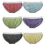 Unbekannt 6 Stück Mädchen Slips in verschiedenen Farben Größe 152-170 (164-170)