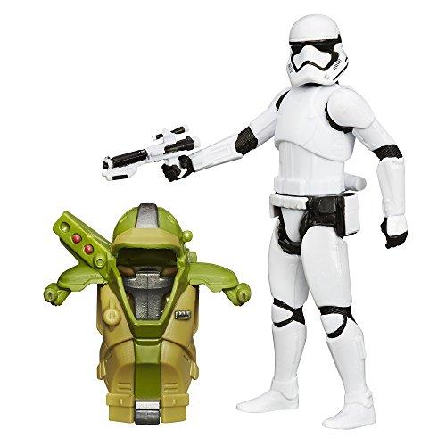 Star Wars The Force weckt 3.75-inch Forest Mission Armor Erste Bestellung Stormtrooper Figur (Der Neue Stormtrooper Helm)
