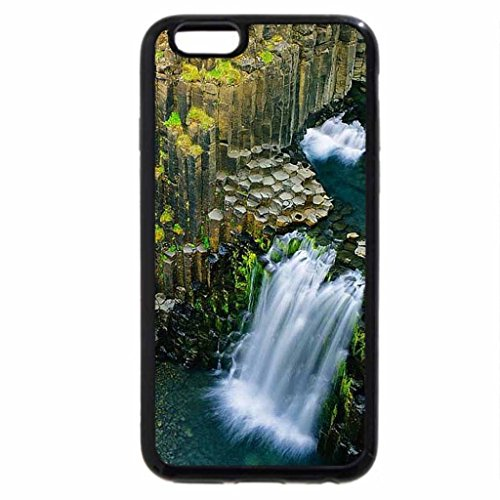 iPhone 6S / iPhone 6 Case (Black) Litlanesfoss-Iceland