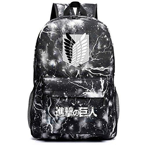 yoyoshome Anime Angriff auf Titan Cosplay Luminous Schultasche College Rucksack Schultasche 2