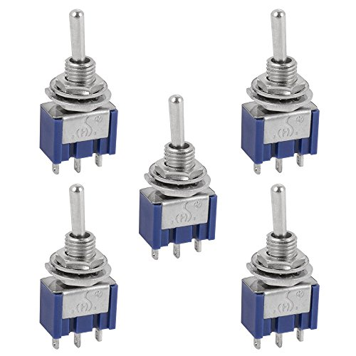 XCSOURCE 5pcs AC 125V 6A 250V 3A SPDT 3 pin