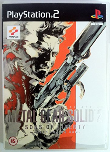 Metal Gear Solid 2: Sons Of Liberty Ps2 Uk