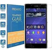 PREMYO cristal templado Xperia Z2. Protector cristal templado Z2 con una dureza de 9H, bordes redondeados a 2,5D. Protector pantalla Sony Xperia