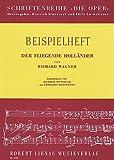 Der fliegende Holländer: Werkeinführung von D. Stoverock und E. Hoenemann. Schülerheft. (Die Oper) -