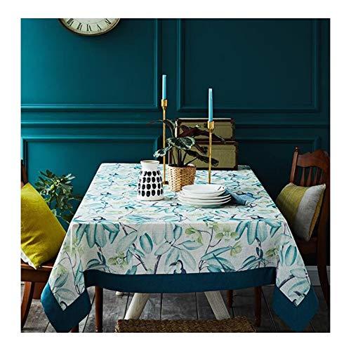 LYQZ American European Nordic Tischdecke Stoff IKEA Small Clear Ins Wind Tea Tischdecke Rechteck (Size : 140 * 200cm)