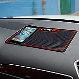 HiKeep Abwaschbar Anti-Rutsch-Matte Auto klebrig Pad Armaturenbrett Antirutschmatte für Sonstiges Ausrüstung, wie Brille, Handys, Schlüssel