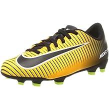 Nike Jr Mercurial Vortex III FG, Botas de fútbol Unisex para Niños
