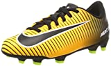 Nike Jr Mercurial Vortex III FG, Botas de fútbol Unisex niños, Naranja (Laser Orange/Black/White/Volt), 37.5 EU