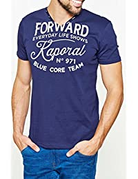 Tee Shirt Kaporal Homme Mazz Navy