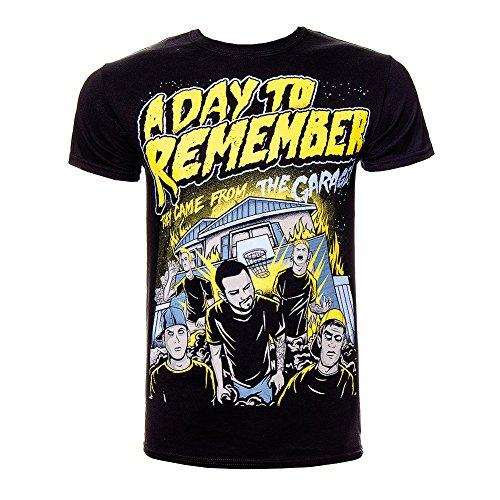 T Shirt A Day To Remember Garage (Nero) - Medium