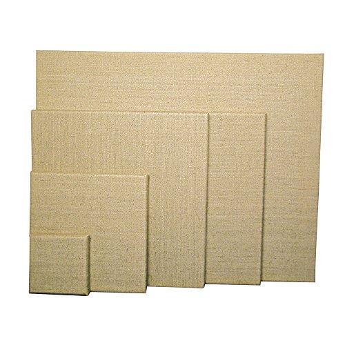 RAYHER 6173500 Keilrahmen, 100% Leinen, 330 g/m², grundiert, 30 x 40 x 1,7 cm