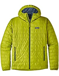 Patagonia MS Nano Puff Chaqueta, Hombre, Light Gecko Green, 2XL