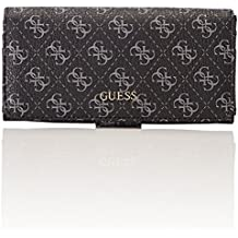 6ab0a930c GUESS - Slg Wallet, Carteras Mujer, Gris (Coal), 2x10x20 cm (