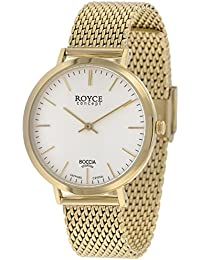 Boccia Damen-Armbanduhr 3590-11,Gold