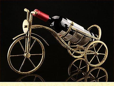 erjiaen Vintage Weinflaschenhalter Skulptur für klassische Chopper & Cycle Modell Statuen als dekorative Bar oder Küche Dekor Tischplatte Weinregalen & steht und Retro Biker Geschenke