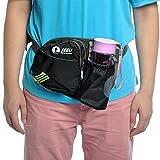 [Sport Hüfttasche] SHOWTIMEZ Hüfttasche Multi-Function Gürteltasche Wasserabweisende Bauchtasche Flache Taille Tasche mit Flaschenhalter zum Sport und Reisen - 6
