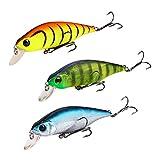 Type: Leurre de pêcheMatériel: PlastiqueLongueur: 8.5cmQuantité: 1 PcsCouleur: aléatoire1. Les yeux holographiques 3D et le corps verisimilar en font une vie comme le poisson.2. Leurre de pêche réutilisable et respectueux de l'environnement.3. Cro...