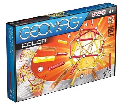 Geomag - Color 120 piezas, juego de construcción (255) por Geomag