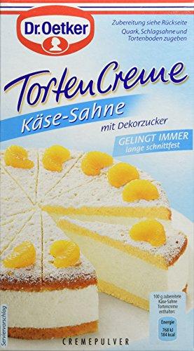 Dr. Oetker Tortencreme Käse-Sahne , 11er Pack (11 x 150g)