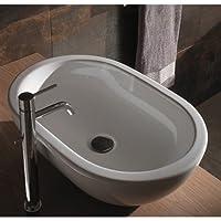 Lavabo Da Appoggio Ceramica Globo Concept 60X40 SC012.BI
