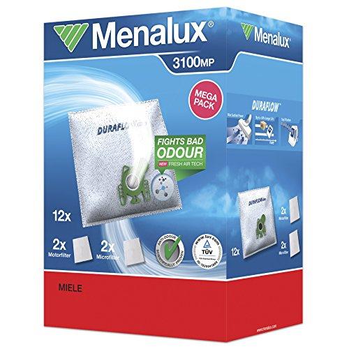 Menalux 3100 MP 12 Staubbeutel mit 2 Microfilter