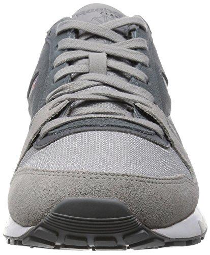 Reebok GL 6000 Athletic, Scarpe da Corsa Bambino Grigio / Bianco (Tin Grey / Alloy / Gravel / White)