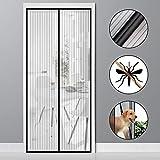 vitutech Zanzariera Magnetica, 100x220cm Tenda Zanzariera Con Magneti Rete Super Fine Anti Zanzariera per Porte di...