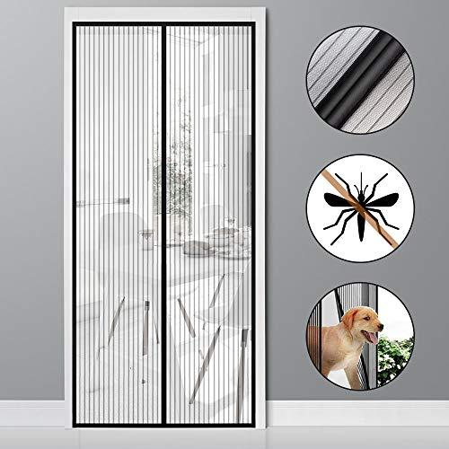 vitutech Zanzariera Magnetica, 100x220cm Tenda Zanzariera Con Magneti Rete Super Fine Anti Zanzariera per Porte di Soggiorno Camera da Letto Casa